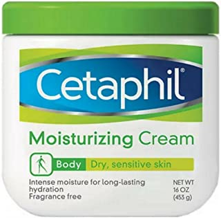 Cetaphil 丝塔芙 滋润保湿霜,适合干性/敏感性皮肤,无香型,16盎司,453克