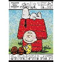 600片 拼图玩具 马赛克 史努比和查里·布朗(38×53厘米)