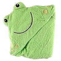 Luvable Friends 动物头像连帽浴巾 青蛙 均码