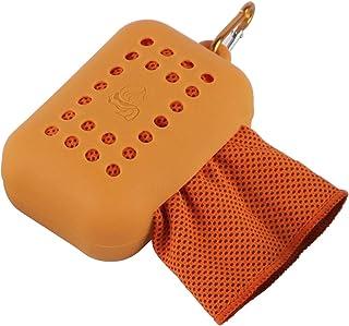 超细纤维毛巾,超细纤维毛巾,柔软透气的凉爽毛巾,适用于运动健身、瑜伽、露营、跑步、健身、锻炼等活动 黄色 34.5 inch*11.5 inch 518-AKUNA