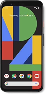 Google Pixel - 64GB - Unlocked 多种颜色GA01187-US Pixel 4 64GB Just Black