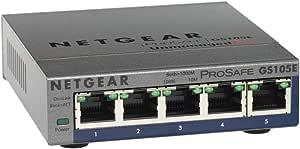NETGEAR GS 105千兆非托管以太网终身保修