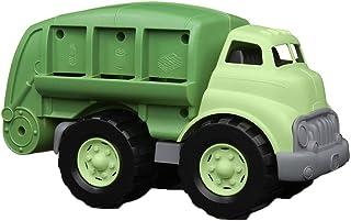 Green Toys 回收卡车-无BPA,无邻苯二甲酸盐的垃圾车,可提高运动能力,精细运动技能。儿童玩具车