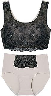Wacoal 华歌尔 WEB 限定 带文胸半身短裤套装 CB3709 女士