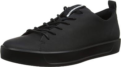 ECCO 愛步男式柔酷8號SOFT 8時尚系帶運動鞋