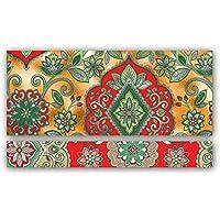 Jillson Roberts 24 个装圣诞钱夹 Tapestry Gold