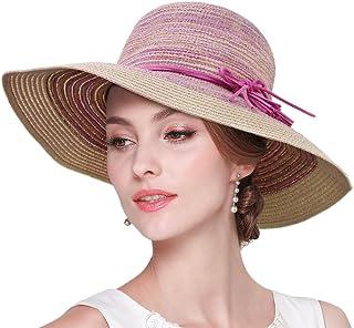 Bucket Hats 女式草帽軟拖沙灘帽寬帽夏季太陽帽