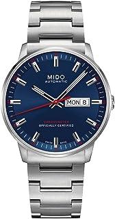 Mido 美度 男式自动手表 Commander II 模拟不锈钢 M0214311104100