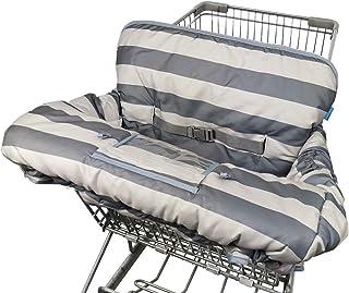 男婴女孩购物车套,6.5 英寸手机袋,免费瓶带,双面购物车靠垫衬垫,婴儿高脚椅套,大号