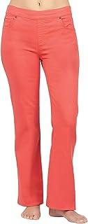 PajamaJeans 女士微喇弹力针织牛仔牛仔裤