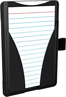 """Oxford At-Hand Note Card Case, 3"""" x 5"""" Size, Black, Includes 25 Ruled Index Cards (63519)"""