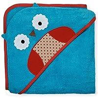 美国Skip Hop可爱动物园连帽浴巾-猫头鹰 SH235253