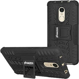 AMZER 抗冲击混合战士皮肤 适合小米 Redmi Note 4 - 黑色