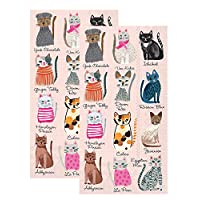 Ideal Home Range 3 层纸冷猫 Cool Cats Guest Towel 2-Pack