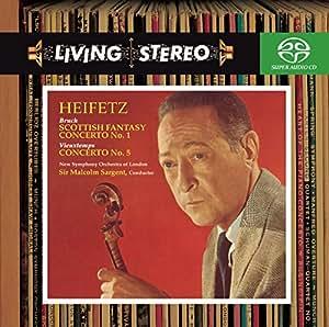 Bruch: Violin Concerto No. 1; Scottish Fantasy/Vieuxtemps: Violin Concerto No. 5