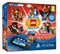 Playstation Vita Console WiFi + 8GB Mem + LEGO Mega Pack /Vita