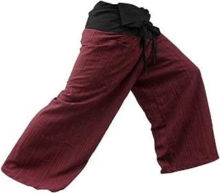 2 色泰拳渔夫裤瑜伽裤,*红色/炭灰色,均码
