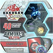 Bakugan Pro,装甲精英入门套装,带变身生物,AQUOS HORLKOR,适用于6岁及以上儿童