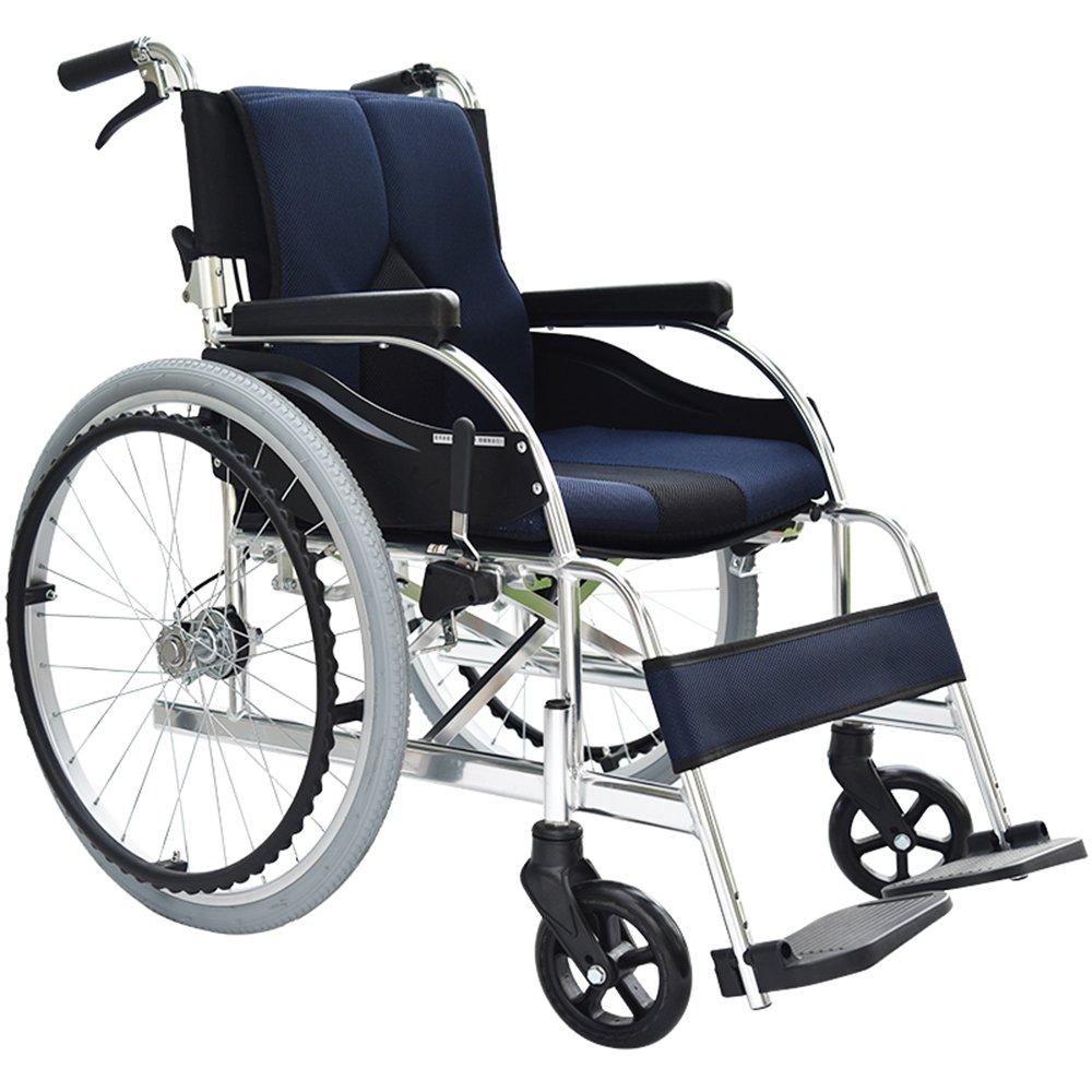 一期一会 轮椅 手动 看护 老人轮椅 轻便可折叠 飞机轮椅 看护车 kc1