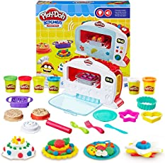 Hasbro 孩之宝 Play-Doh 培乐多彩泥 创意厨房系列神奇电子烤箱套装 B9740