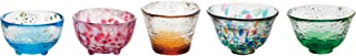 ADERIA 石塚硝子 津轻玻璃杯五款迷你玻璃杯套装 FS-49573