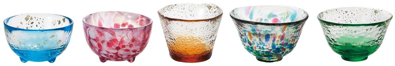 ADERIA石塚硝子 津轻玻璃杯五款套装