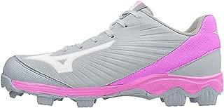 Mizuno 女士 9 pike Advanced Finch Franchise 7 模塑垒球鞋钉鞋