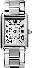 卡地亚 法国品牌 TANK系列 自动机械男士手表 W5200028(亚马逊自营商品, 由供应商配送)
