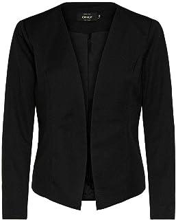 ONLY 女式 ONLANNA 短外套 TLR NOOS,黑色,8