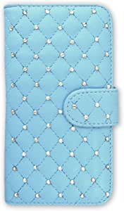 whitenuts 保护套翻盖式装饰凉被 天空蓝 10_ Disney Mobile on SoftBank DM016SH
