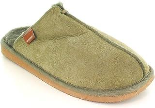 Shepherd 男士羊皮一脚蹬 | 'HUGO 橄榄绿