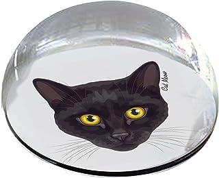 "Forever Crystal""黑猫和黄眼""宠物纪念磁贴"
