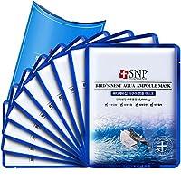 "SNP 海洋燕窝补水安瓶精华面膜 25ml*10片(皮肤吃""燕窝"")(进)"