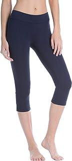 Fishers Finery 女式 Ecoffabric 经典运动锻炼瑜伽卡普里裤
