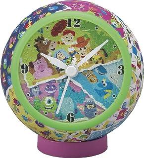 拼图 迪士尼 皮克斯艺术 145片 【拼图时钟】 (直径10x高10cm)