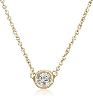 ESTELLE 网络限定商品 钻石 K18 黄金 项链