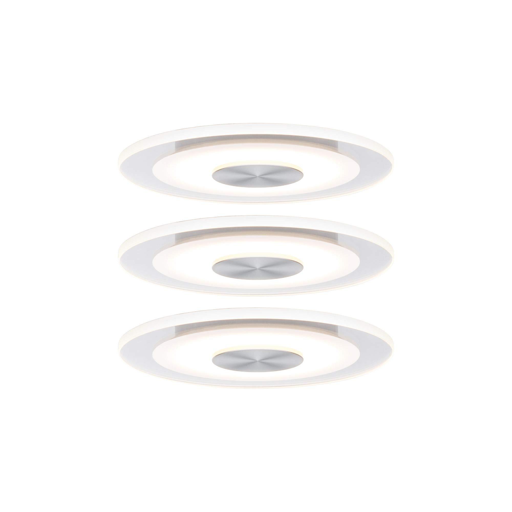 Paulmann 建设灯具套装优质 Rund (Einbauleuchte) 3er Set (Ø 120mm)