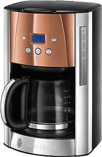 Russell Hobbs 英国领豪 Luna 咖啡机 Edelstahl/Kupfer 12 Tassen