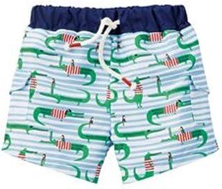 Mud Pie 儿童海盗鳄鱼泳裤