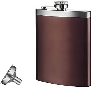 Vacu Vin 随身*壶和漏斗,不锈钢,棕色/银色,9.6x18x2.8 厘米
