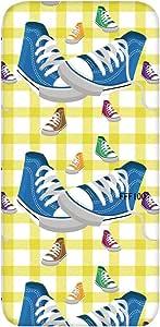 智能手机壳 TPU 印刷 对应各种机型 cw-691top 盖 运动鞋 鞋 UV印刷 软壳WN-PR422611 Disney Mobile on docomo SH-02G 图案E