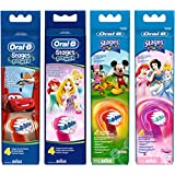 Oral-B Stages Power Kids Replacement Electric Toothbrush Heads Featuring Disney Characters (Design May Vary)