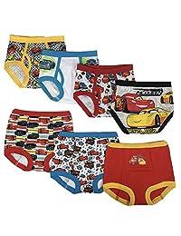 迪士尼幼儿男孩汽车3PK 训练裤和4PK 三角裤