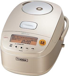 象印 电饭锅 5.5合(约1升)压力IH式 香槟金色 NP-BE10-NZ (需要变压器)