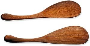 "NOVICA""Peten 惊喜"" 2 件套木质搅拌铲"