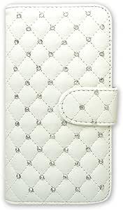 被白色坚果手机保护壳翻盖式装饰 白色 3_ Galaxy S8 Plus SM-G955 Samsung