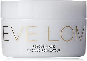 EVE LOM 紧急救援面膜  每周深层清洁,可舒缓浮肿的面部和双眼  帮助修复斑点,突围,时差,发红,刺激性皮肤,樟脑,杏仁和蜂蜜注入的高岭土,3.3盎司(约93.55克)