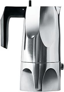 Alessi Aluguss Espresso咖啡机,铝制,24.5 x 15 x 4.5厘米