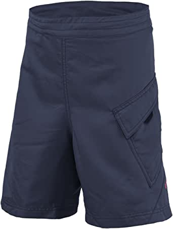 Scott Sports Jr Trail Flow ls/fit w/衬垫短裤 - 241867(蓝色夜晚/茶莓粉色 - 152)