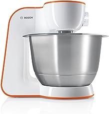 Bosch 博世 StartLine MUM54I00 厨房料理机(900W, 3,9L不锈钢搅拌碗) 橙色/白色